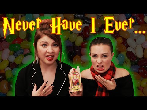 Harry Potter Never Have I Ever with Bertie Botts ft. MOLLY BURKE