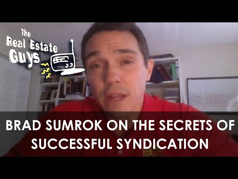 Brad Sumrok on The Secrets of Successful Syndication