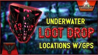 ARK Valguero UNDERWATER LOOT DROP LOCATIONS