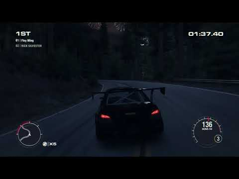 Big Sur California Night Grid 2 (No Flashback)