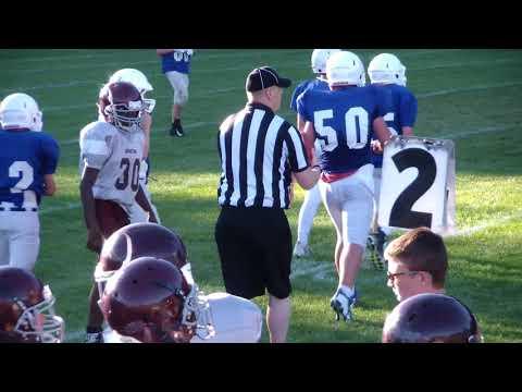 BHBL Modified-8 Football 9/22/2017 at Saratoga