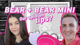 FOREO Bear impressions, our tips after months! ft Erika Beck / Bear Mini comparison How To