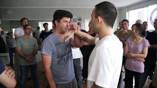 'Accepting force' within an open structure in Wing Chun - part 1