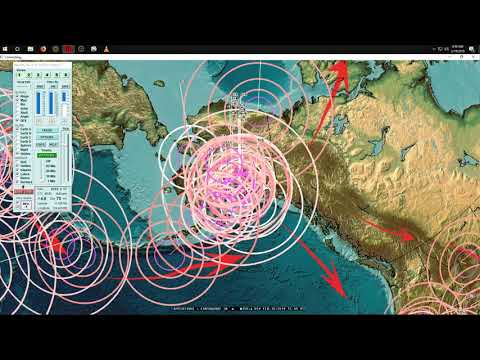 2/19/2019 -- Earthquake Update -- Pacific deep activity + pressure transfer explained
