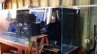 Quiet Overflows! 600 Gallon Saltwater Reef Garage System Build Episode 3