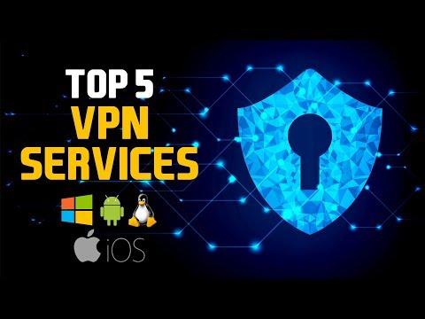 Top 5 Best VPN Services (2018)