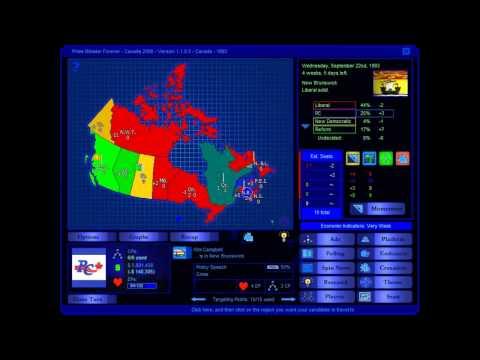 Canada 1993 Election Game (Progressive Conservative)