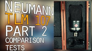 Let's Talk About the Neumann TLM 107 - Part 2 - Multiple Instruments and Voice - NTK vs C214 vs 107