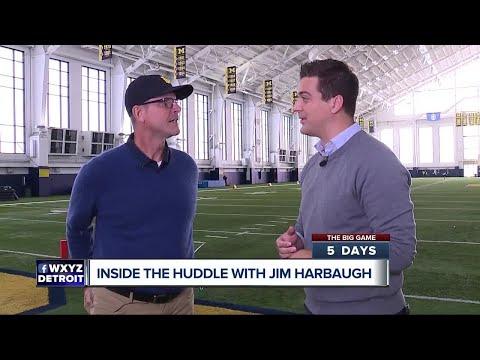 Jim Harbaugh says he
