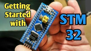 STM32 Arduino IDE Tutorial Getting started with stm32