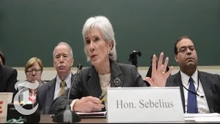 Sebelius Grilled; Spotify Adds Zeppelin; Fake Sign Language Interpreter at Mandela