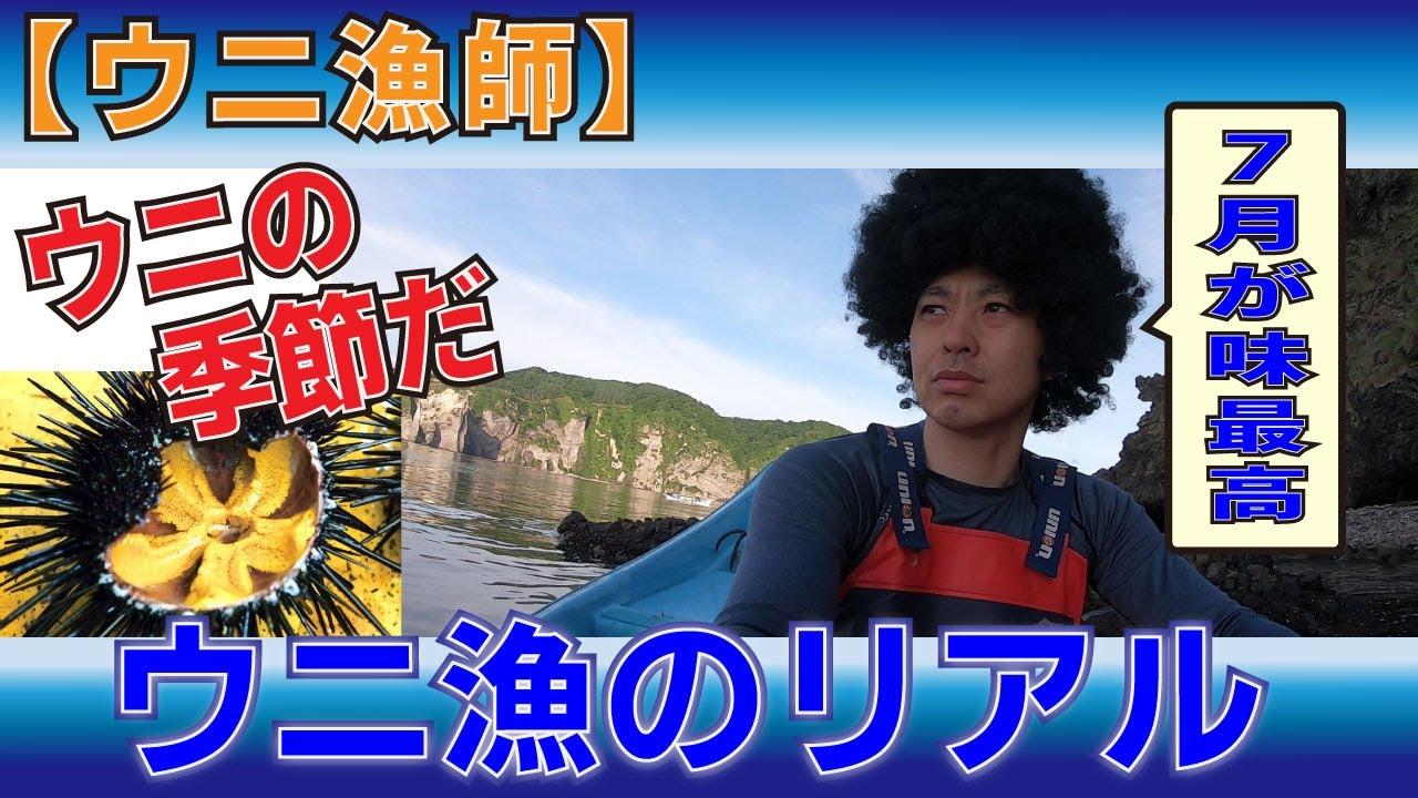 【仕事の流儀】ウニ漁始まる #うに丼 #岩太郎商店