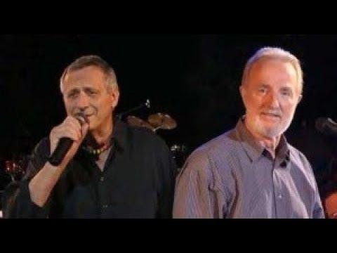 Konstantin Wecker & Hannes Wader bei den Songs an einem Sommerabend 2001