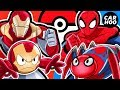 What If Iron Man & Spider-man Were Pokémon Trainers 【 MARVEL Superheroes Parody 】