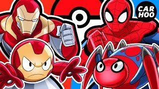 What If Iron Man & Spider-man Were Pokémon Trainers 【 MARVEL Superheroes Parody 】 thumbnail
