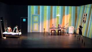 """""""Diario de viaje I (20 para las 8)"""". Posteatro de Sasha Waltz (Teatro Municipal de Santiago)."""
