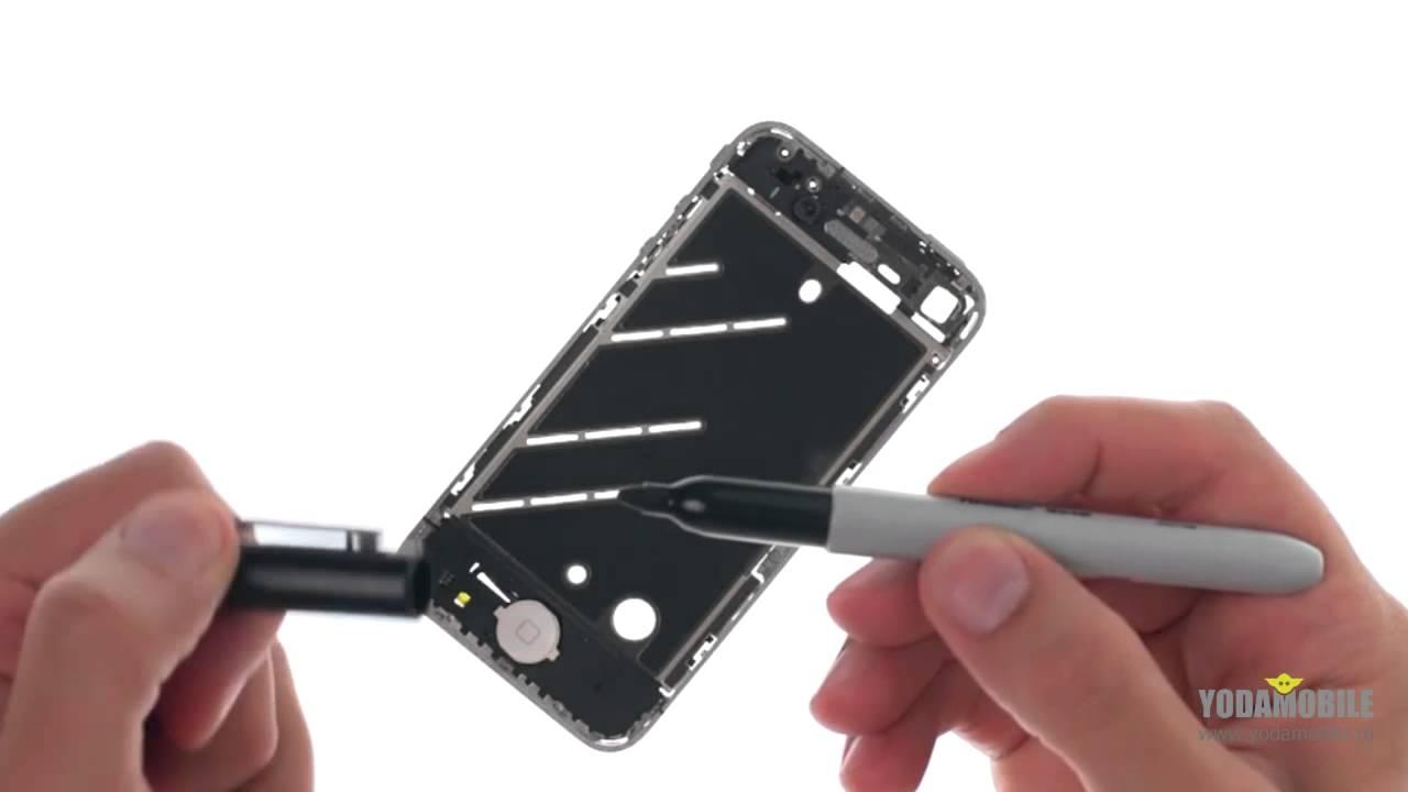 ремонт датчика приближения в айфоне
