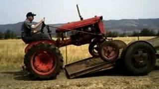 How to not load a tractor
