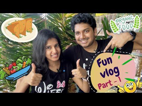 Food VLOG in Tamil | Organic Farm in Singapore | Bollywood Veggies | Part 1