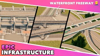 Epic Rail & Road Infrastructure Upgrade for my Cities: Skylines Dream Bay City   Ep. 9