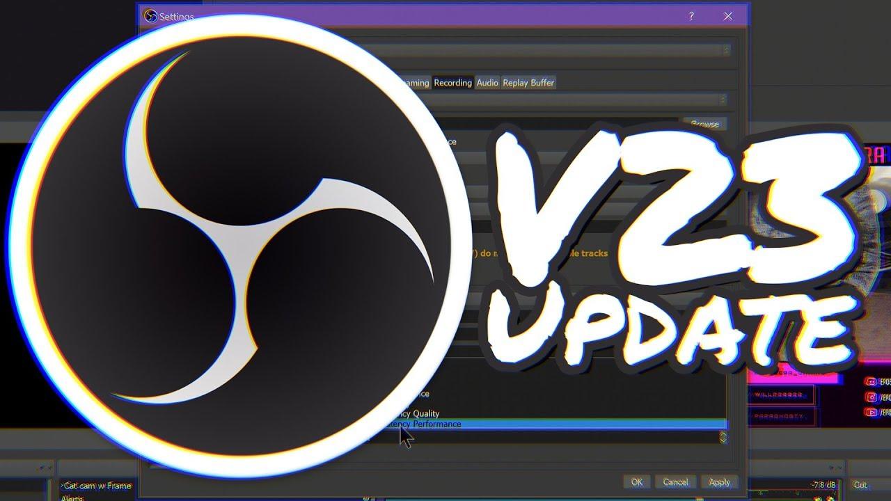 NEW NVENC EXPLAINED, Stream Service Integration & MORE! - OBS Studio v23  Update Guide