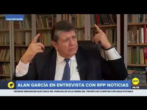 """Alan García: """"Allanen lo quieran, en el momento que quieran, yo jamás me he vendido"""""""