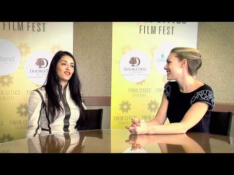 Olga Segura at the Twin Cities Film Fest