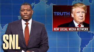 Weekend Update: Steve Bannon Held in Contempt & Trump Social Media - SNL