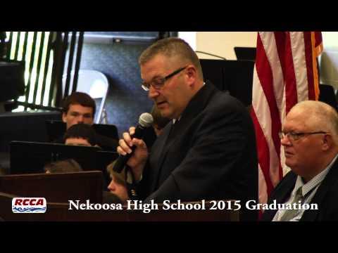 Nekoosa High School Graduation Ceremony 2015