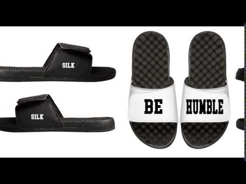 Silk Kendrick Lamar Be Humble Its Lit Slides Shoes Sandals for Men!