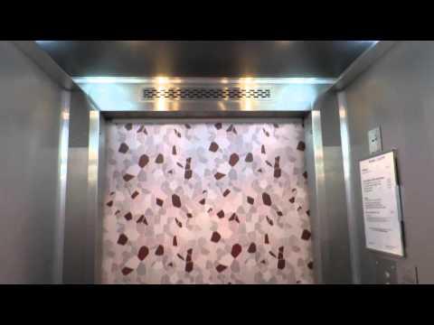 two modernised Transporta elevators@office building, bratislava
