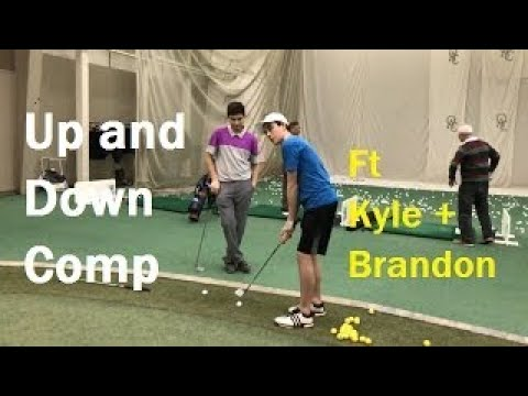 Up and Down Competition Ft. Junior Golfers Kyle And Brandon 3 Holes