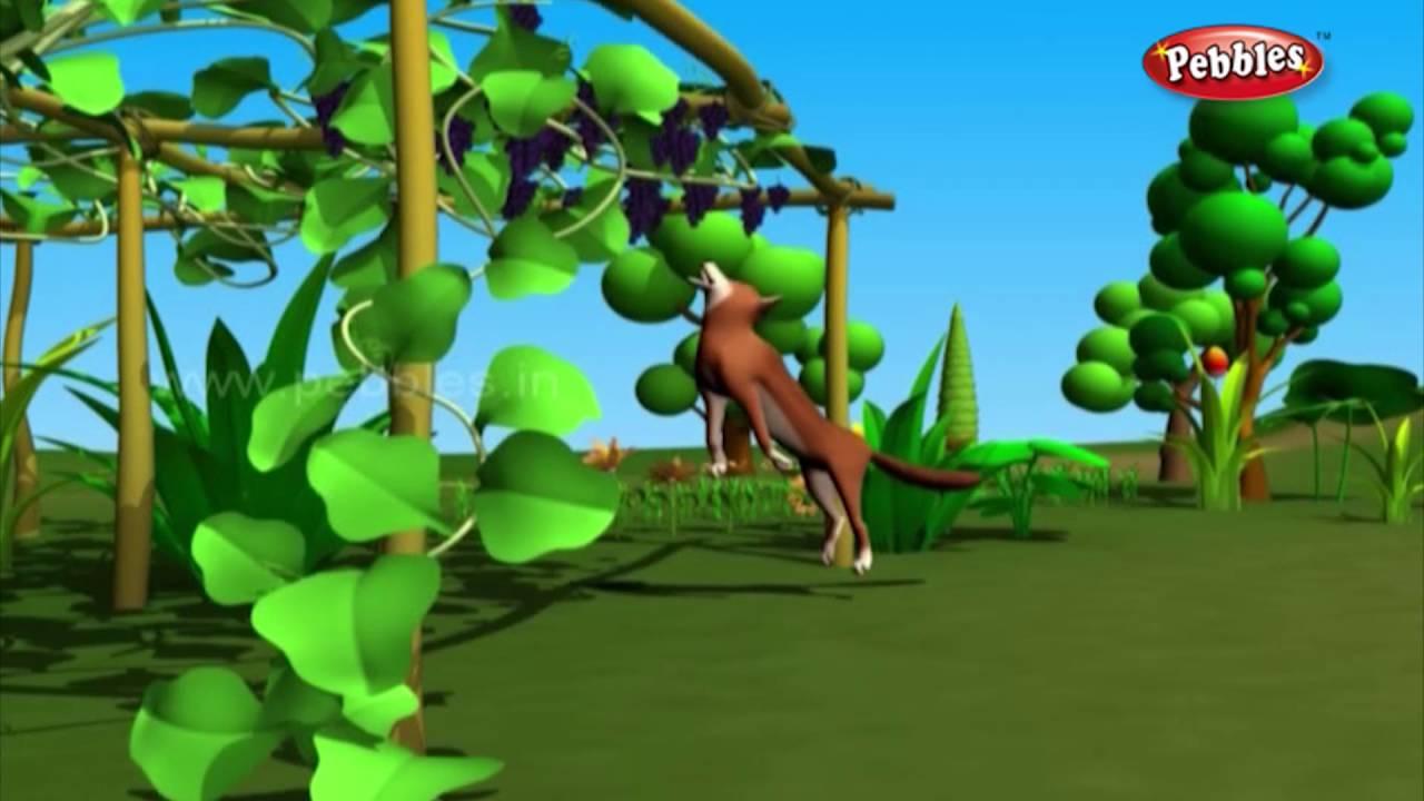 fox and the grapes story moral in hindi