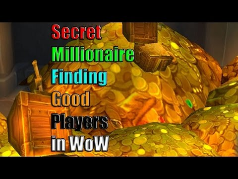 Secret Millionaire - Social Experiment to test players in WoW