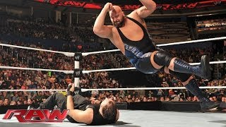 Big Show & The Rhodes Brothers vs. The Shield: Raw, Dec. 2, 2013