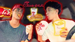 Chick-Fil-A MUKBANG: Brother Edition | Q&A