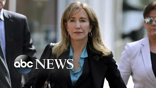 Felicity Huffman writes emotional letter to judge | ABC News