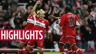 MATCH HIGHLIGHTS | Middlesbrough 4 Manchester United 1 - October 2005