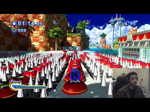 Sonic Generations PC - (1080p 60FPS) Unfair Seaside Hill Mod w/Facecam