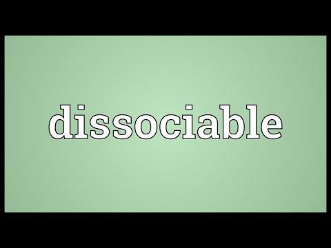 Header of dissociable