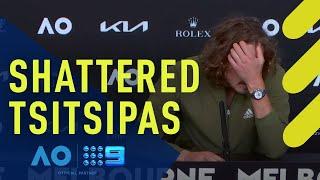 Tsitsipas shattered by straight sets loss - Australian Open | Wide World of Sports