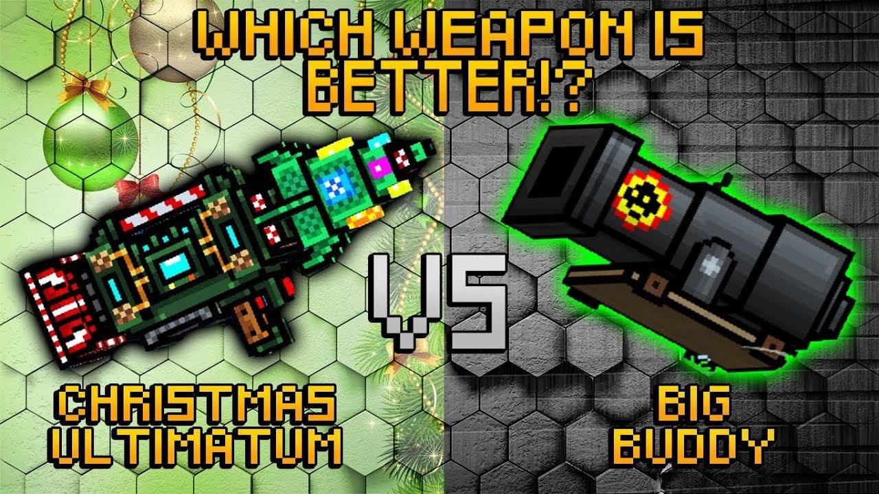 Pixel Gun 3D , Christmas Ultimatum VS Big Buddy