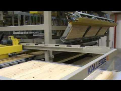 Section press plant from Kallesoe Machinery