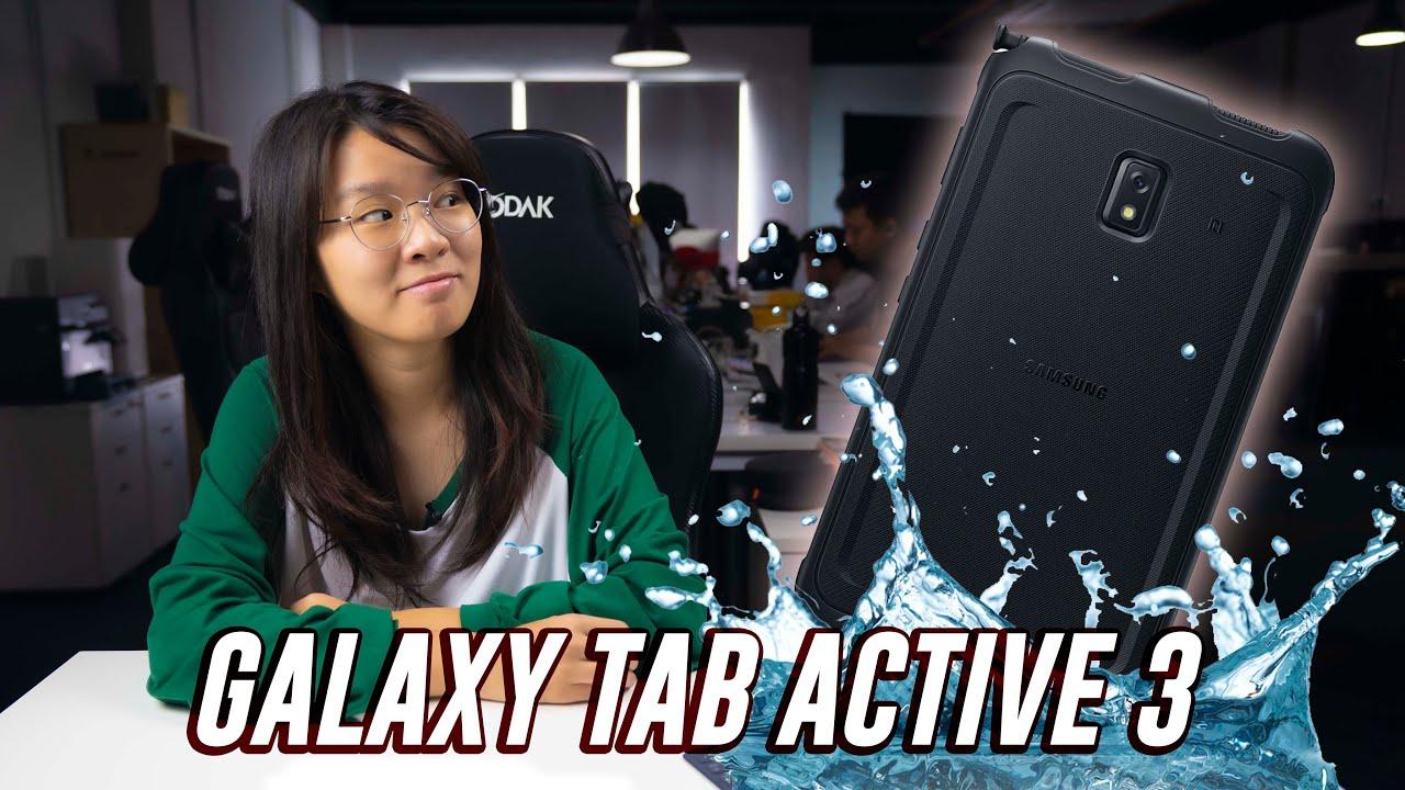 Water & drop resistant tablet! Galaxy Tab Active 3   ICYMI #415 - SoyaCincau