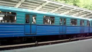 Еж/Ем и Русич на Филёвской линии