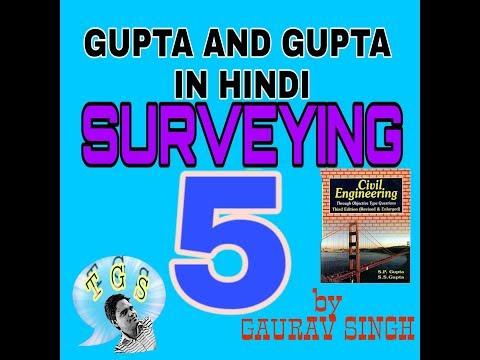 #5 Surveying Gupta and gupta in Hindi... TECHNICAL G SINGH