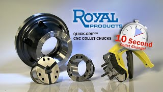 Royal Products Quick-Grip™ CNC Collet Chuck