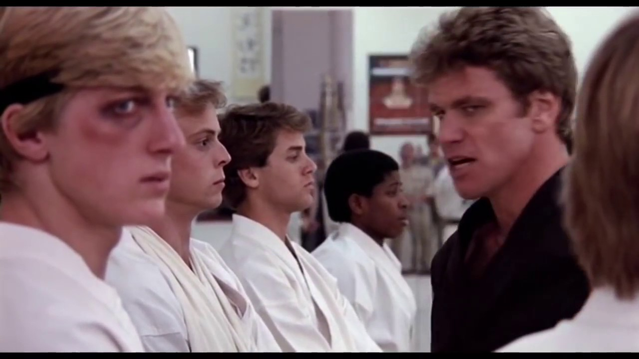 Download The Karate Kid (1984) - Leave Boy Alone Scene (3/5) | MovieTimeTV