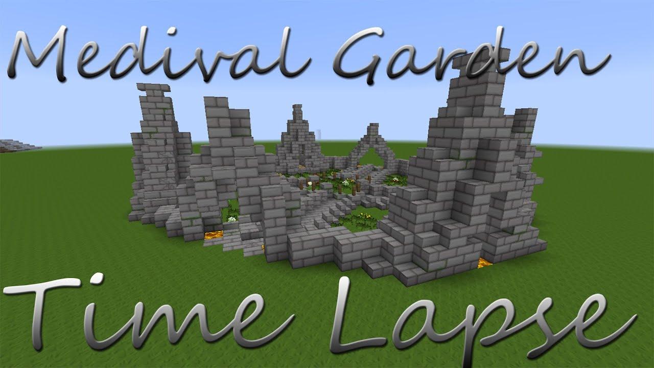 medieval garden time lapse buildriots smp server application youtube. Black Bedroom Furniture Sets. Home Design Ideas
