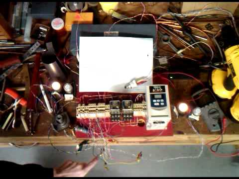 Freight Elevator Controls Bench Wiring - YouTube